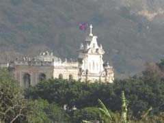 Church on the hill Antigua