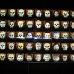 15 spooky skeletons and faces mexico