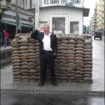 39 philip at checkpoint charlie berlin